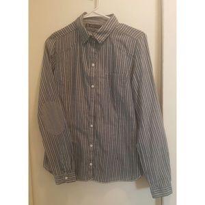 ZARA | Striped Button Down Shirt